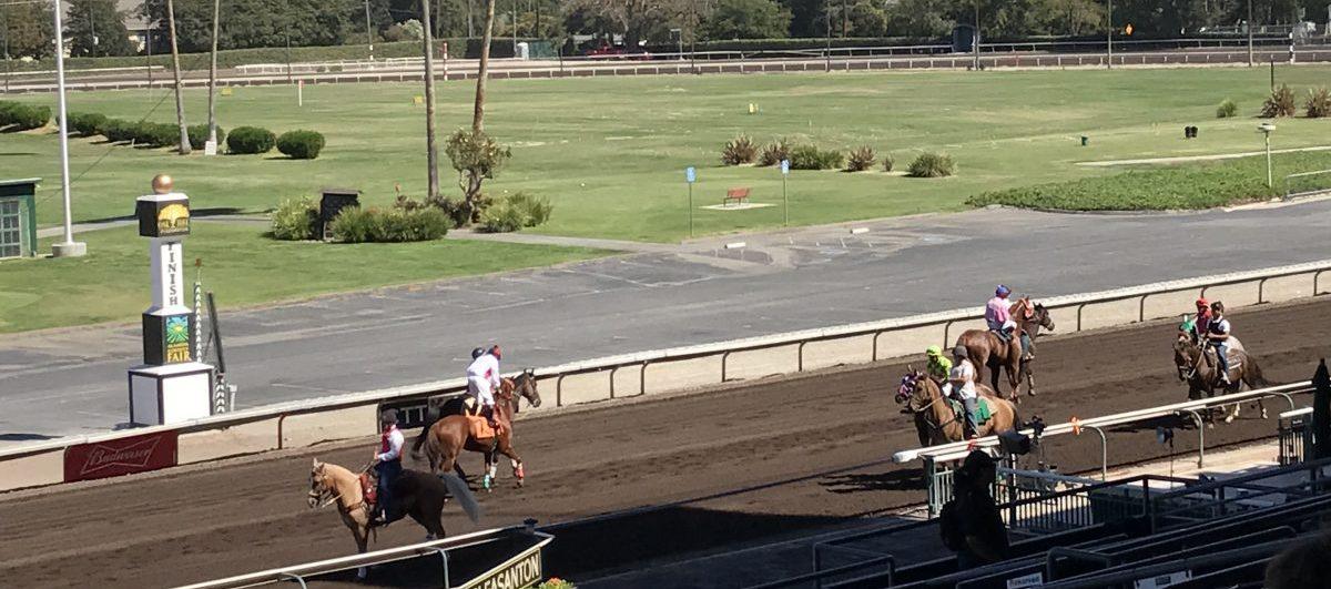 Alameda County Fairground Race Track